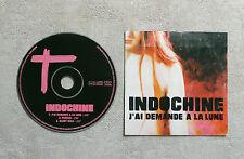 """CD AUDIO MUSIQUE / INDOCHINE """"J'AI DEMANDÉ A LA LUNE"""" CDS 3T 2002 CARDSLEEVE"""