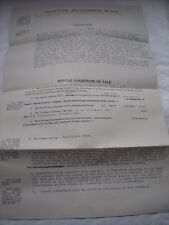 Particulars & Conditions Of Sale Of Freehold Dwelling House etc King's Lynn 1936