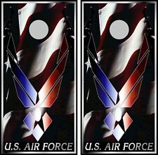 Us Air Force 0410 cornhole board vinyl wraps stickers posters decals skins gift