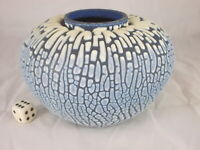 Vintage Keramik Vase ALBERT KIESSLING Design Fat Lava Ära Studiokeramik 60er