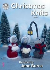 Kingcole Christmas Pattern  Book 5 - 10 xmas designs - Not the finished Items