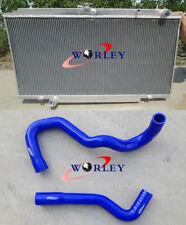 For Nissan GU Patrol Y61 Diesel 4.2L Turbo TD42 Manual Aluminum radiator & hose