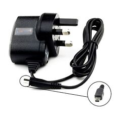 UK Mains Travel Wall House Charger For Garmin DriveAssist 51 50 LMT-D LMT-S