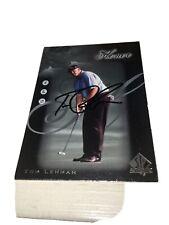 Tom Lehman Signed 2001 Honor Roll Golf Card