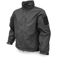 Viper Tactical Elite Soft Micro Shell Security Police Doorman Jacket Coat Black
