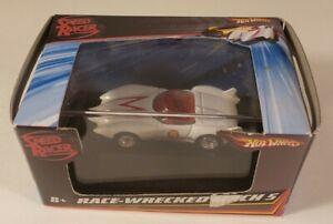 Hot Wheels Mattel - Speed Racer - 2008 1:87 Race-Wrecked Mach 5 NIB