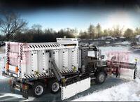 1694PCS MOC Technic Snowplow Truck Building Block Toy Model Brick New