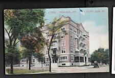 pk36272:Postcard-Olivia Apartments,4th and Moffett,Joplin,Missouri