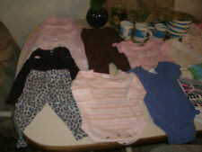 Baby girls 20 piece mixed clothing lot size 3 - 6 months