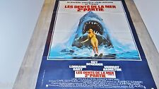 LES DENTS DE LA MER 2  jaws !  affiche cinema