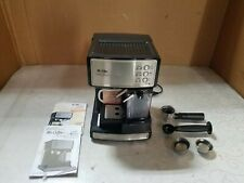 Mr. Coffee BVMC-ECMP1000-RB Café Barista Espresso and Cappuccino Maker - Black