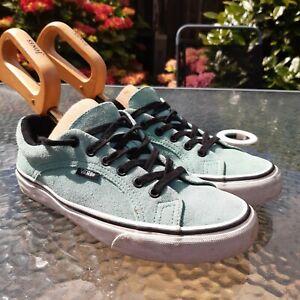Vans Mint Green Womens Trainers Shoes UK Size 5 EU 38 US 7.5