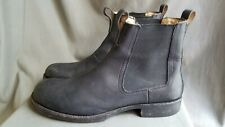 Men's Black Leather FRYE FULTON 87261 Chelsea Boots Sz-11D Made in Mexico