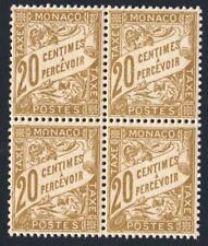 TAXE  ANNÉE 1926- N°:18 BLOC DE 4  NEUFS ** SANS CHARNIERE NI TRACE