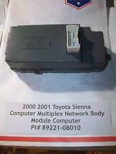 TESTED 2000 2001 Sienna Computer Multiplex Network Body # 89221-08010
