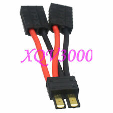 Traxxas TRX 1 Male to 2 Female Parallel 14AWG 5CM Wire E Revo LiPO Solderless