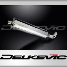 """Honda VFR800 Interceptor 18"""" Stainless Oval Muffler Exhaust Slip On 98 99 00 01"""