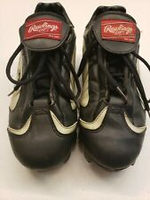 Rawlings  Baseball CleatsBlack/Red Size 8