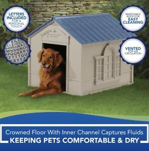 Extra Large Outdoor Dog Kennel Winter Pet House Shelter Animal Hut Houses