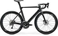 MERIDA 2020 REACTO DISC 8000 E S - M  52 gravel road-race Carbon Bike BLK/SIL