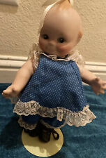 Vintage Kewpie Doll Bisque Porcelain Figurine Jointed Arms & Legs 10 1/2� Stand