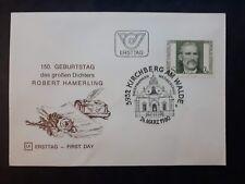 FDC, Ersttag,1980 Österreich, Robert Hamerling