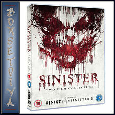 SINISTER - DOUBLE PACK - SINISTER 1 & 2  *BRAND NEW DVD BOXSET***