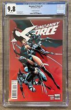 Uncanny X-Force #1 CGC 9.8 J Scott Campbell 1:50 Variant, NM/MT, Marvel Comics