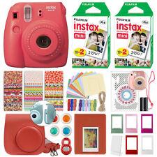 Fuji Instax Mini 8 Fujifilm Instant Camera All Colors + 40 Film Deluxe Bundle
