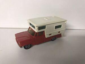 Majorette miniature vintage voiture très bon état 80s camping car pick up dodge