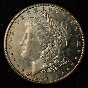 1897-S $1 MORGAN SILVER DOLLAR SAN FRANCISCO MINT UNITED STATES COIN