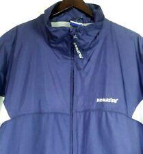 KOMATSU Mens Jacket Winter Coat Blue/Grey Size 2X Embroidered Good Condition!