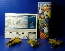 Transformers Energon Saber w Manual and Short Comic