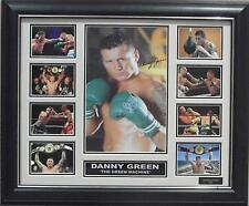 DANNY GREEN SIGNED LIMITED EDITION FRAMED MEMORABILIA