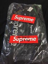 Supreme FW17 Nylon Duffle Bag Black 2017 Cordura Bogo Box Logo