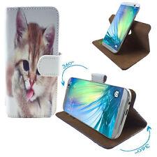 Hüllen für LG K4 Dual Handycase Handycover 360 S Katze 2