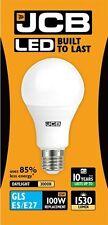 Paquete de 5x 15w LED GLS E27 Ópalo 3000k 1530lm ( JCB s10994 )