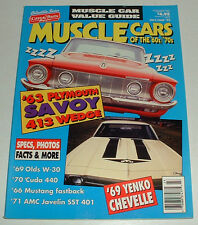 Muscle Cars of the 60's & 70s Magazine 413 Wedge Olds W30 Cuda Javelin SST Yenko
