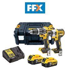 Dewalt DCK266P2-GB XR 18V Kit de Impacto sin escobillas ia Combi/- 2x5.0Ah
