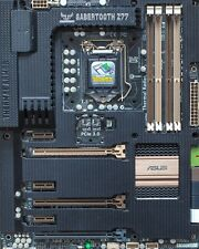 ASUS SABERTOOTH Z77 LGA1155 1155 INTEL ( i3 i5 i7 ) PC CPU MOTHERBOARD SLI