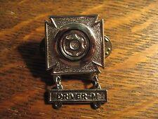 Mechanic Driver Pin - American USA Military Soldier Veteran Qualification Badge
