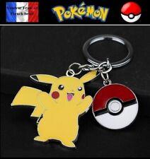 Porte Clés NEUF En Métal ( Keychain ) - Pokémon Pikachu Poké Ball
