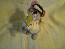 Annalee Mouse, 1990s Retired, Waiter? w/Fork & Knife, Vintage USA