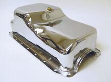 1971-80 Chrome Steel SB Chrysler Mopar 360 V8 Oil Pan Center Sump Hot Rod Racing