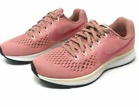 Nike Womens Air Zoom Pegasus 34 Running Shoes Pink White 880560-606 NEW