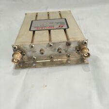 Sinclair Preselector, 3 MHz bandwidth,BNC connectors, 467.575 MHZ