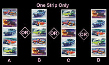 US 4747a Muscle Cars forever vert strip set MNH 2013