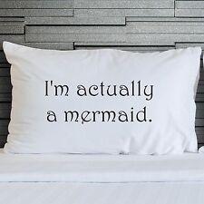 Pillowcases Novelty Funny Bedroom Bedding Little Mermaid Pillow Cover WSD797