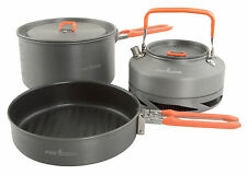 Fox Medium Cookware Set 3 Pieces CCW001 Geschirr Angelgeschirr Kochgeschirr