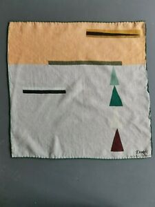Pocket square, Drake's, Hand rolled edges, rare